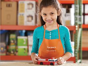 Home Depot Kids Work shop