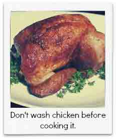 Food Standards Agency Warns Not to Wash Chicken Before Cooking