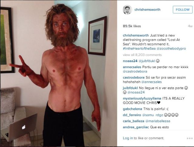 Chris Hemsworth Dramatic Weight Loss – Not Recommended
