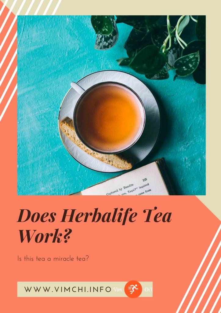 does herbalife tea work