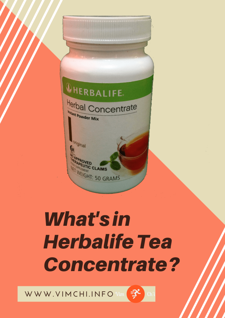 herbalife tea ingredients