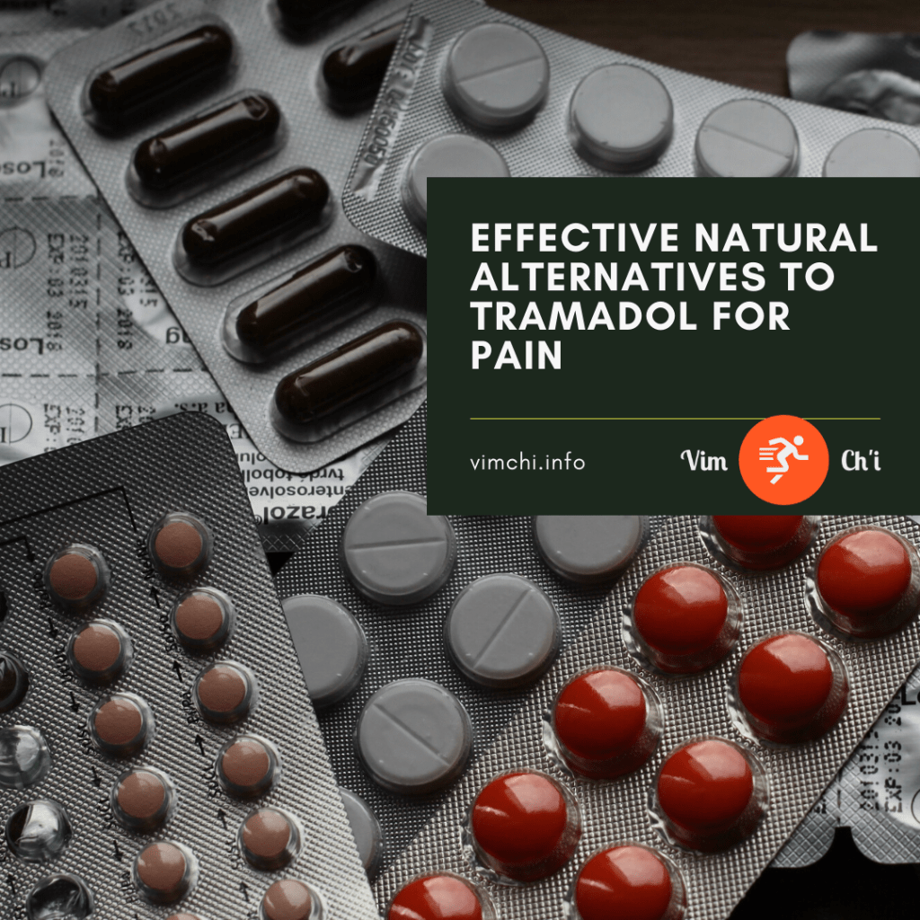 natural alternatives to tramadol for pain