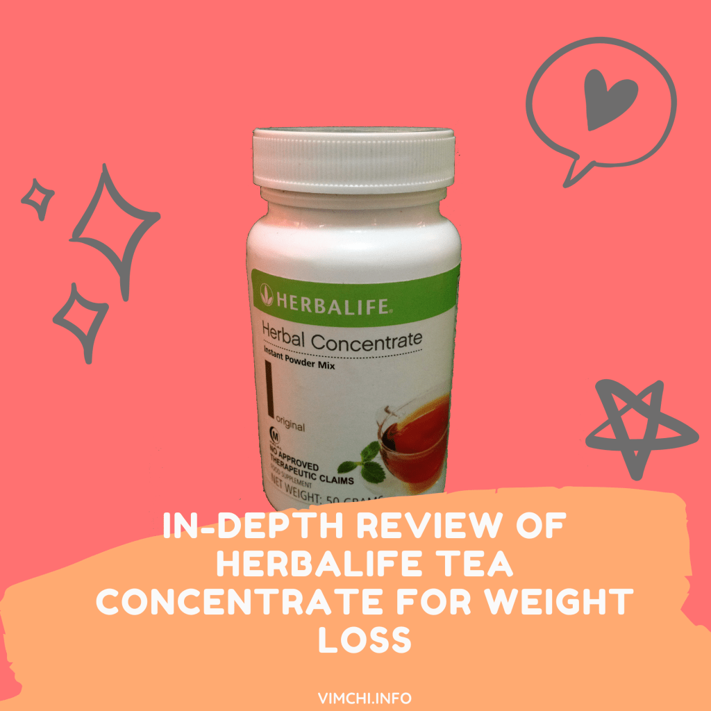 In-Depth Review of Herbalife Tea Concentrate for Weight Loss