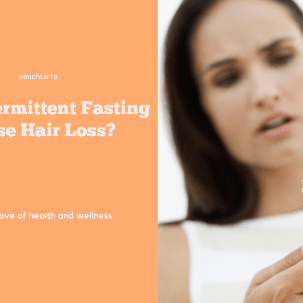can intermittent fasting cause hair loss