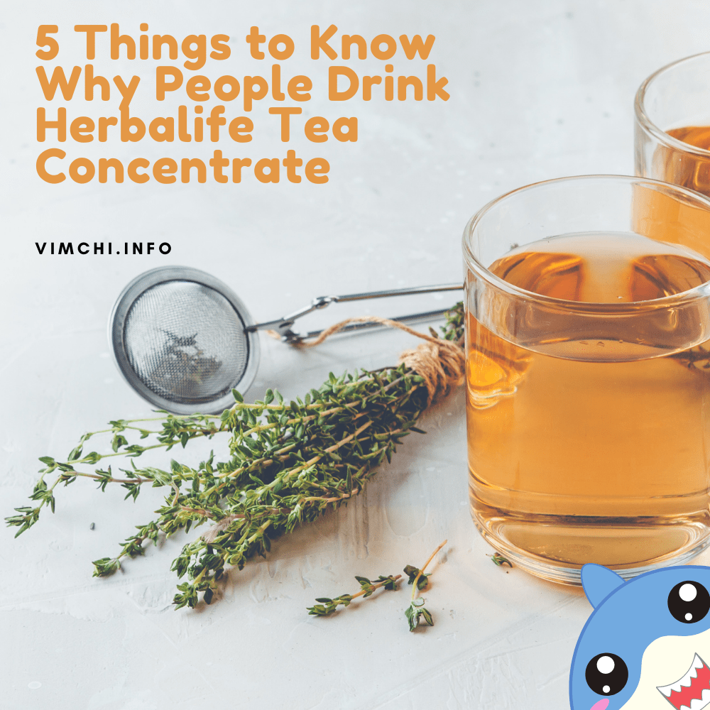 What Does Herbalife Tea Do 5 things