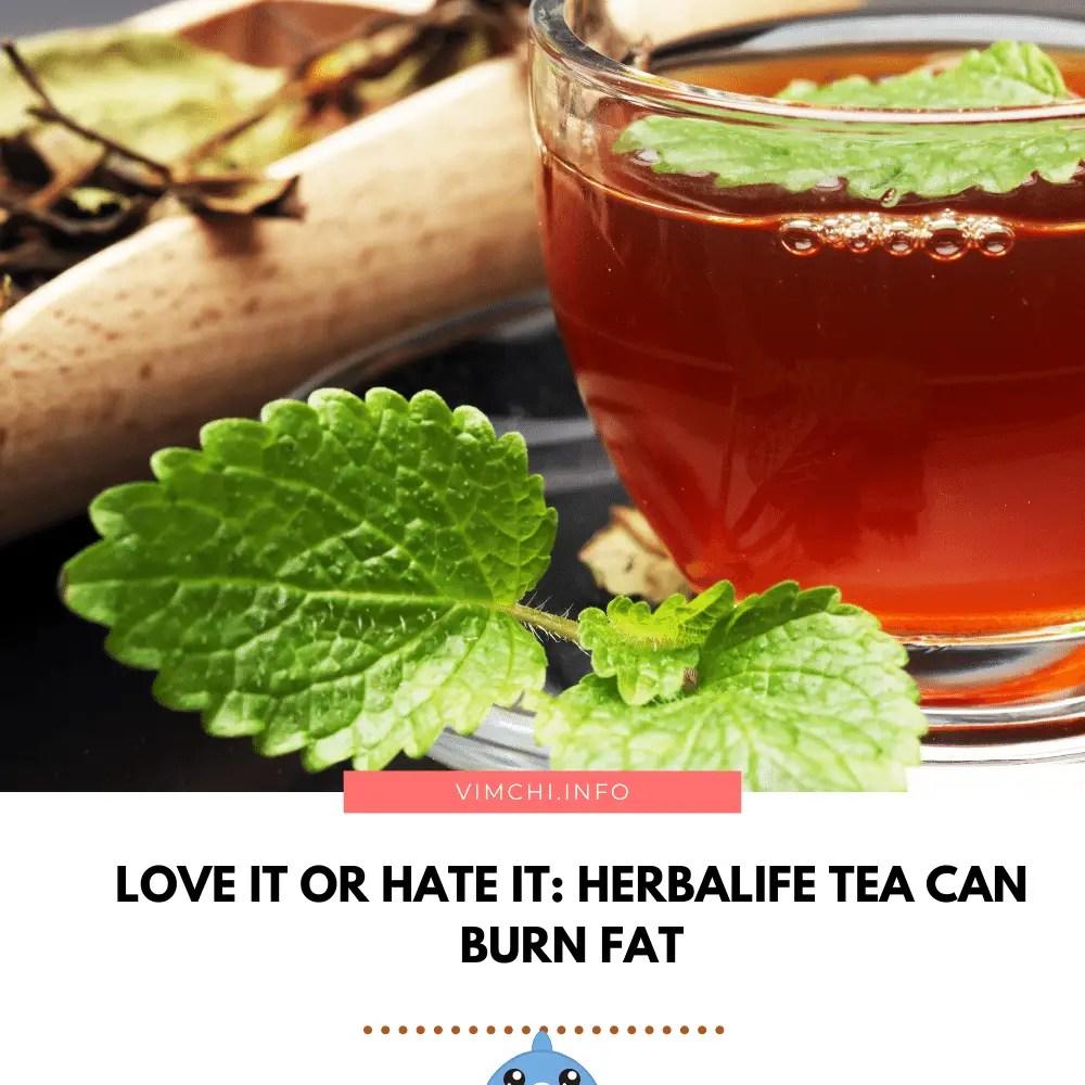 how herbalife tea burn fat