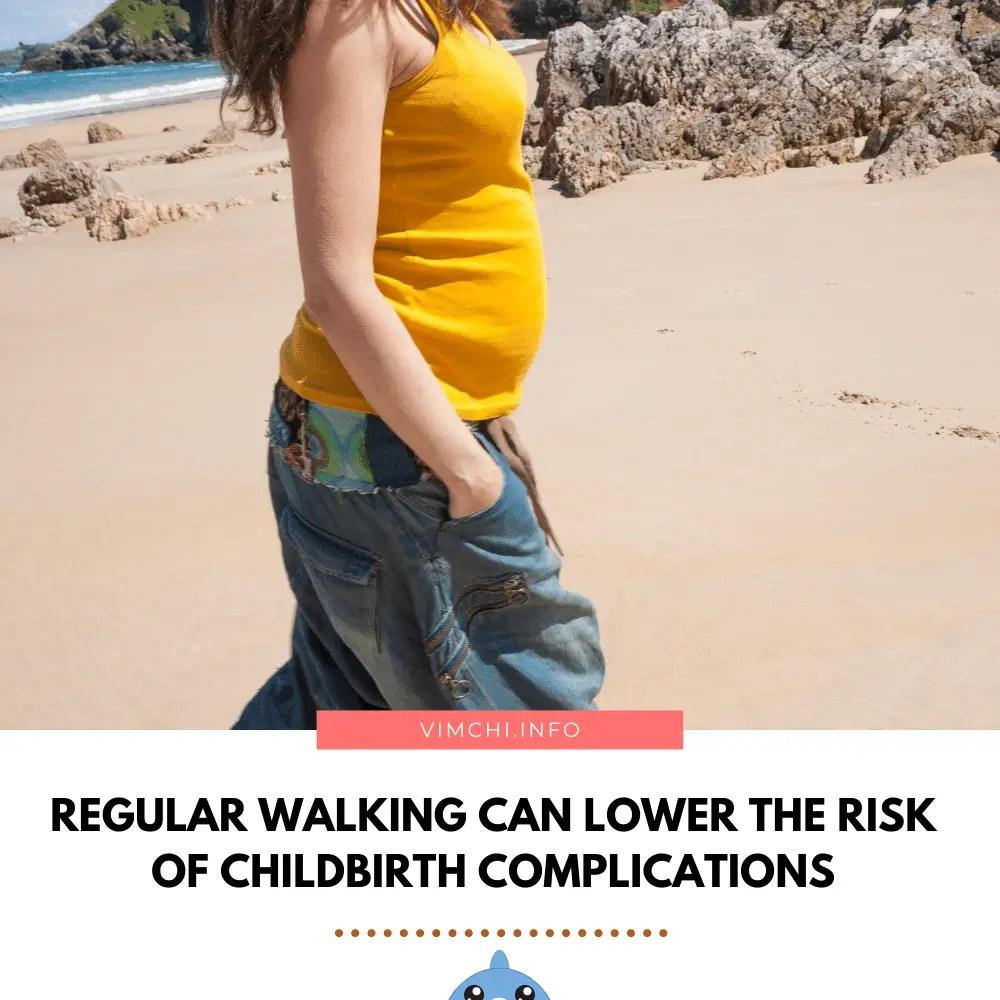 prepare for childbirth - walking