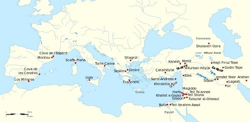 Sites archéologiques du Vin