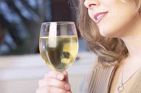 Vin blanc bon pour la santé