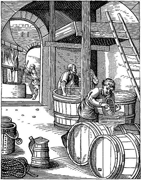 Brasserie au 16° siècle