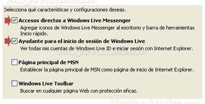 Caracteristicas  y condiciones de Messenger