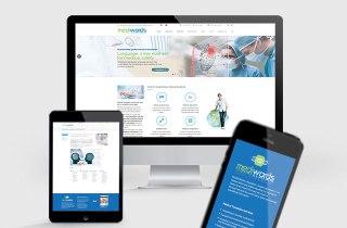 Diseño web Mediwords