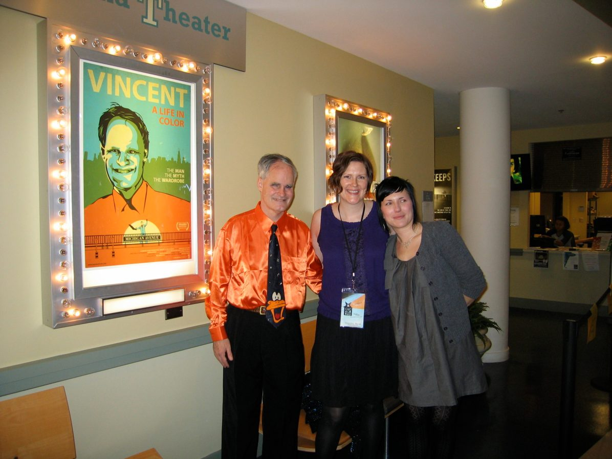 Vincent, director Jennifer Burns and editor Christine Gilliland Wolf.