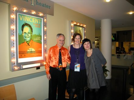 Vincent, director Jennifer Burns and editor Christine Gilliland Wolf.