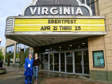 Vince and Jennifer at the Virgina Theater.