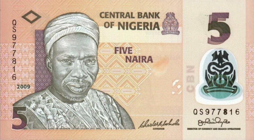 5 Naira Note