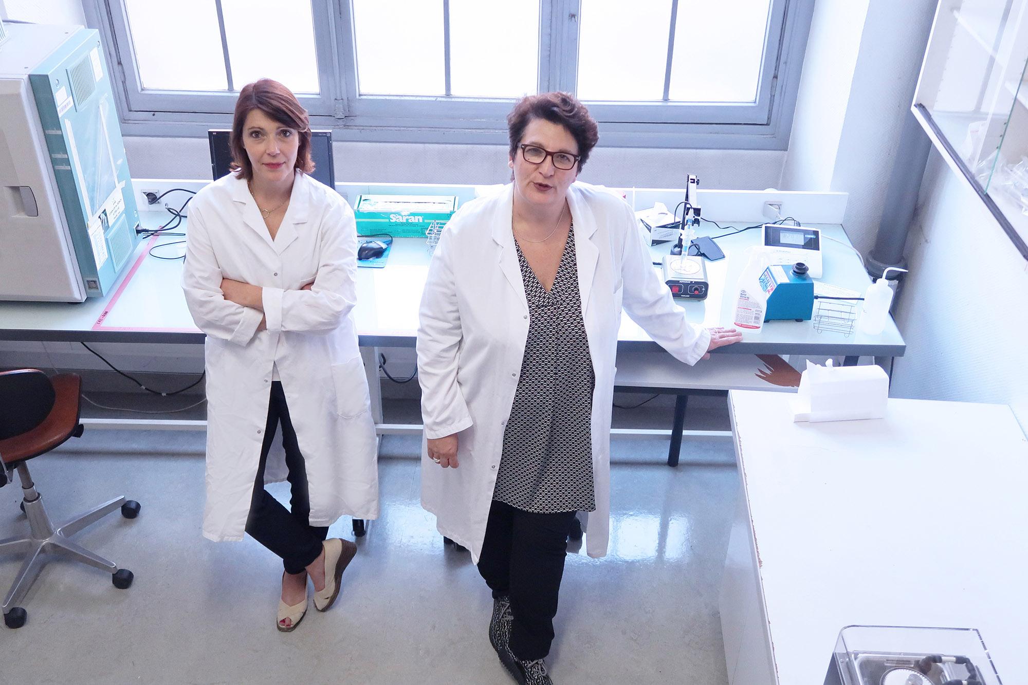 Shooting photo pour Science Dior à l'UPMC pour magazine NATURE - photographie publiée