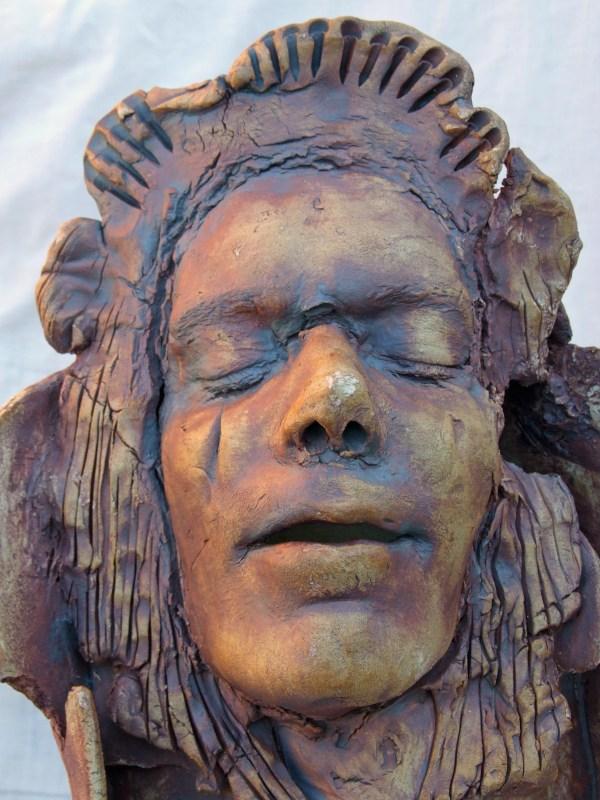 Adoration Piller Ceramic Vincent McDonnell