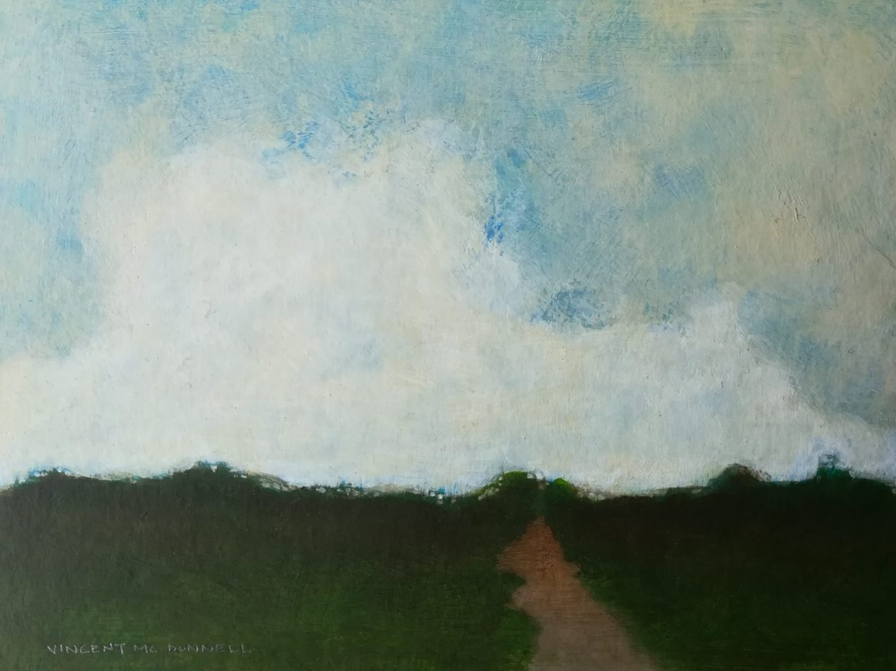 Path series: 'Green Field Path # 3' Vincent McDonnell