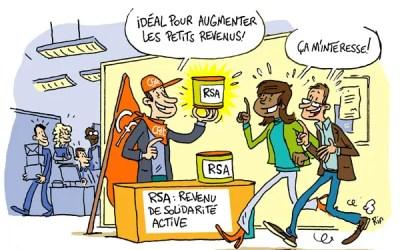 RSA (revenu de solidarité active)