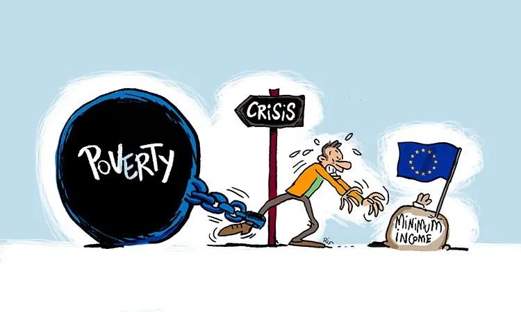 Minimum income in Euope ?