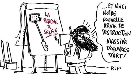 Daech -Cartoon - dessin de presse