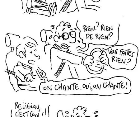 Arthur et le cours de religion