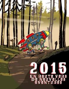 Dessin pour carte de vœux 2016