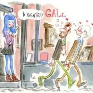 «Vernis du mercredi», cartoon du site culturel Mu in the city