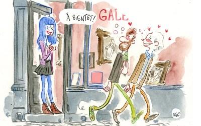"""""""Vernis du mercredi"""", cartoon du site culturel Mu in the city"""