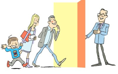 Illustrations pour les Portes ouvertes de Dominique Buyse