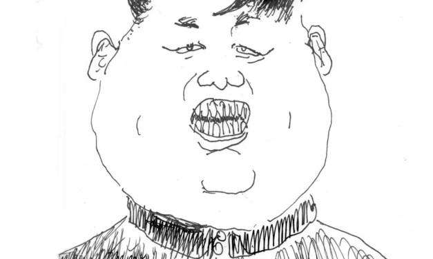 Caricature de Kim Jong-un, par Vincent Rif