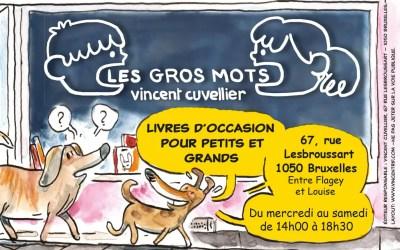 """Flyer pour """"Les gros mots"""""""