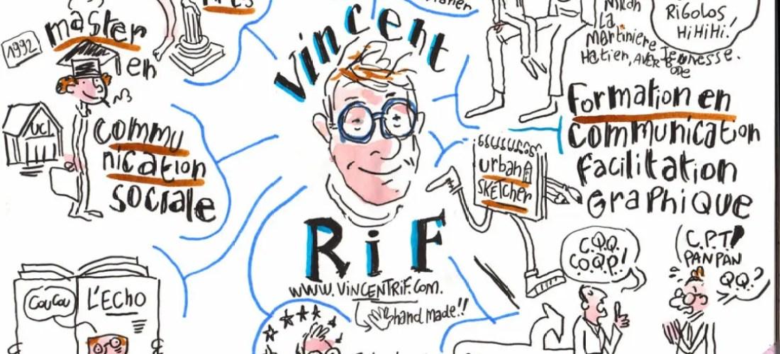 Vincent Rif en Sketchnoting
