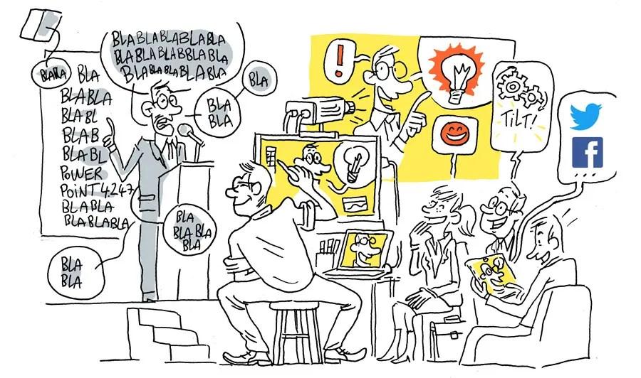 Vincent Rif en vidéo dessinée