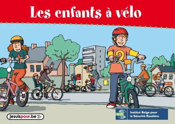 La brochure que j'ai illustrée pour l'Institut belge de Sécurité routière (IBSR et devenu l'Institut VIAS)