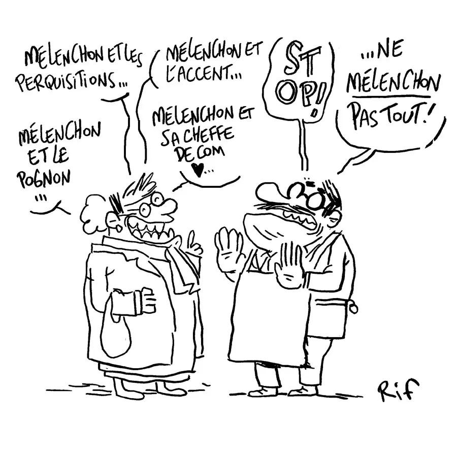 Jean-Luc Mélenchon perquisitionné, le siège de La France insoumise (FI) également, Sophia Chikirou soupçonnée d'avoir surfacturé