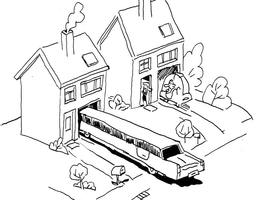 Avoir pignon sur rue