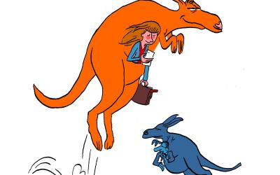 Y a-t-il plus d'humains ou de kangourous en Australie ?