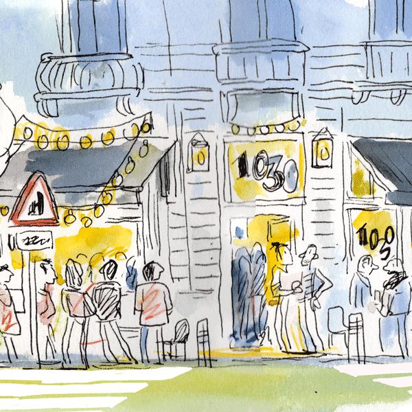 La fête du 1030 Café