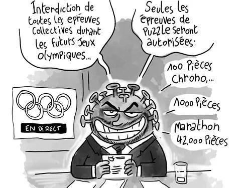 Les jeux olympiques et le covid-19