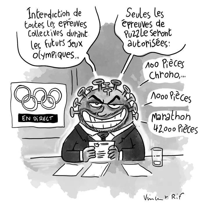 Les nouvelles mesures sanitaires des jeux olympiques face au coronavirus