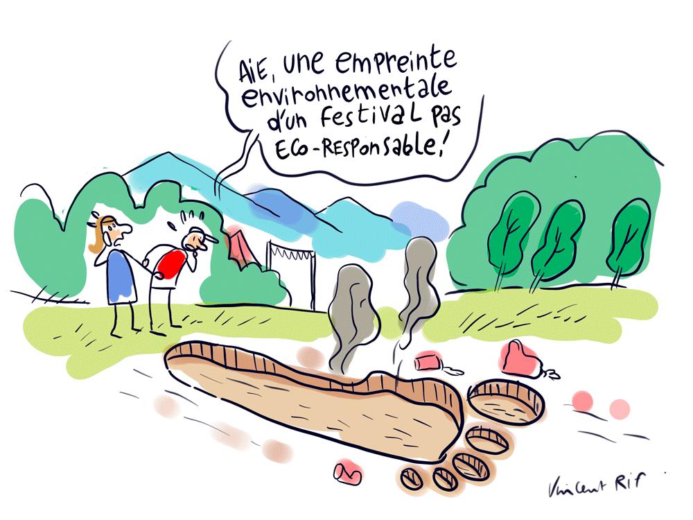Empreinte environnementale - festivals et politiques de transition écologique en Occitanie