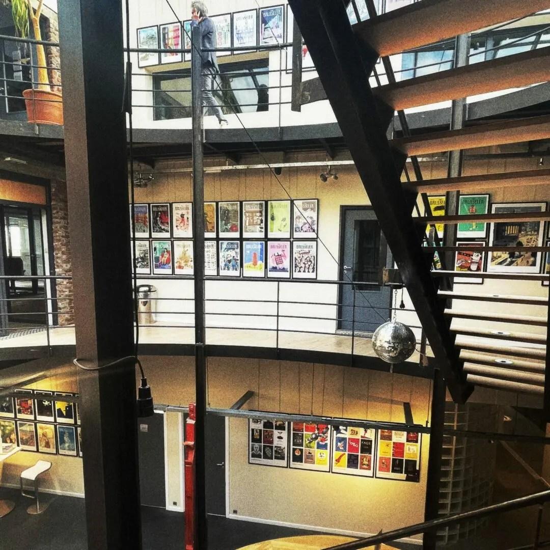 vue d'ensemble de l'exposition the Brusseler à la Seed Factory