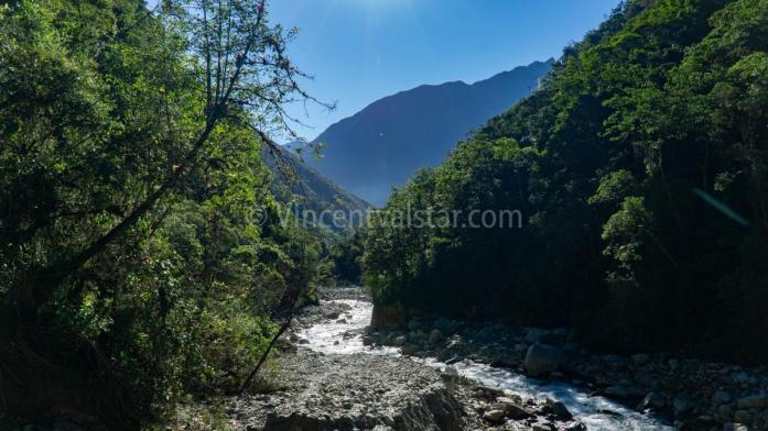 A river you pass when doing the Salkantay Trek, Peru