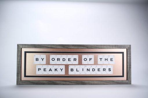 By Order of the peaky Blinders Card Art