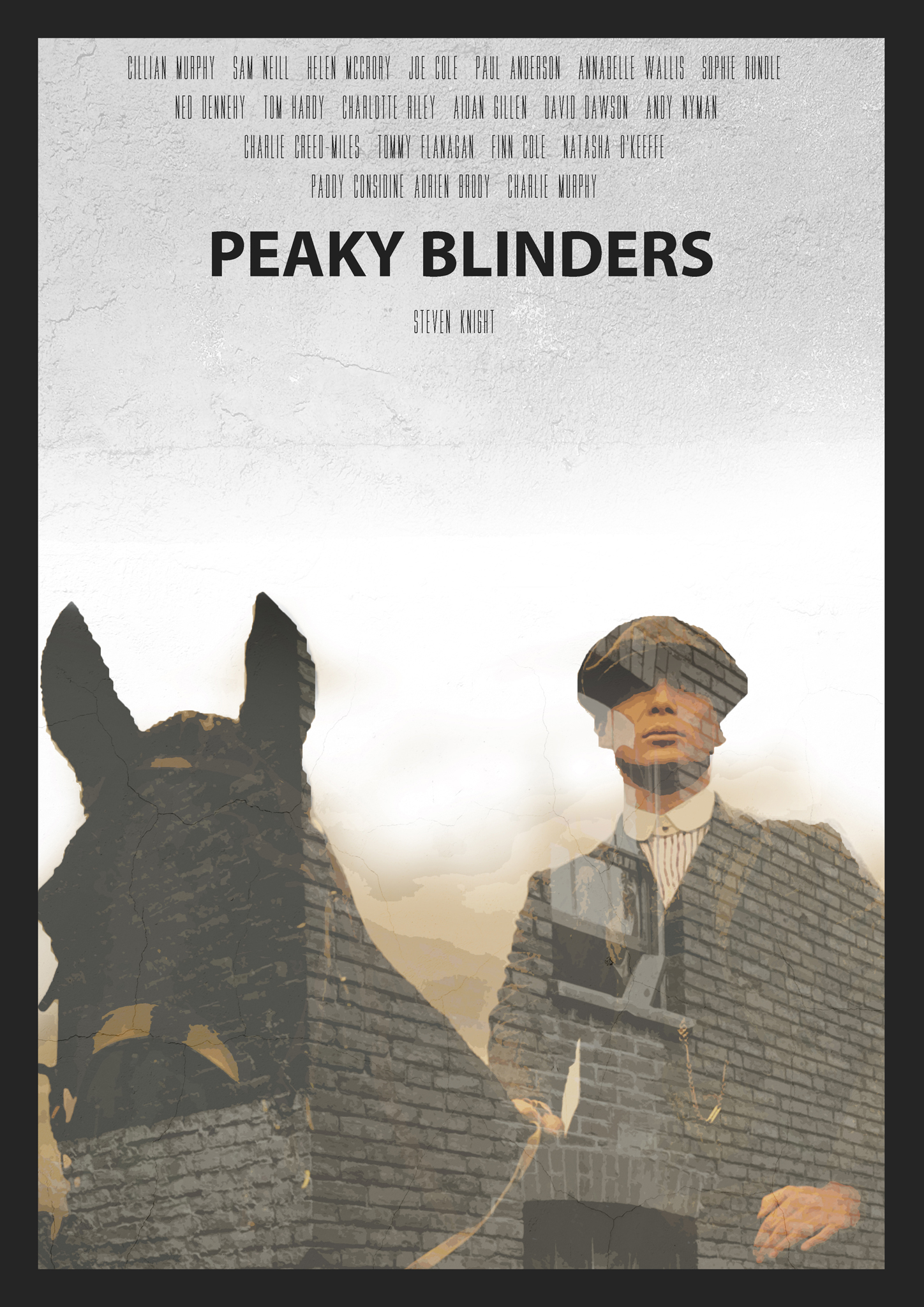 tommy shelby peaky blinders art poster