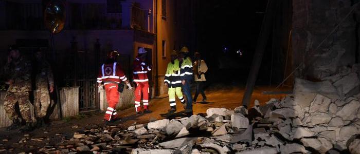 Il centro Italia torna a tremare: scosse di magnitudo 5.4 e 5.9