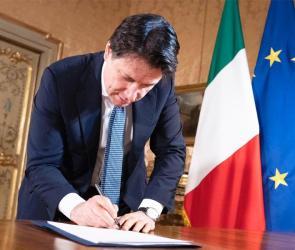 Coronavirus, firmato il Dpcm 27 aprile 2020