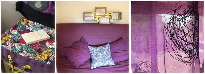 Le violet apaise